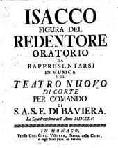 Isacco figura del redentore