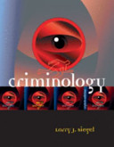 Criminology   The Core Book