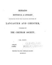 The Private Journal and Literary Remains of John Byrom: Vol. I, part II., Volume 1, Part 2