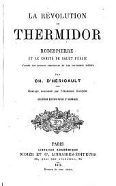 La révolution de thermidor: Robespierre et le Comité de salut public en l'an II