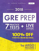 GRE Prep by Argo Brothers PDF