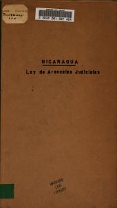 Ley de aranceles judiciales