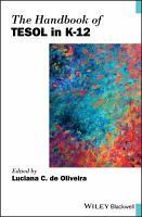 The Handbook of TESOL in K 12 PDF