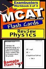 MCAT Test Prep Physics Review--Exambusters Flash Cards--Workbook 3 of 3