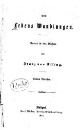 Des Lebens Wandlungen: Roman in drei Büchern, Band 3