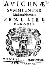 Fen prima libri primi Canonis