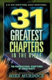 31 Greatest Chapters In The Bible