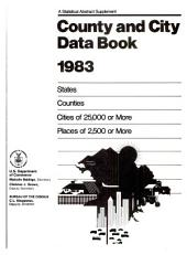 County and city data book: Pages 417-996