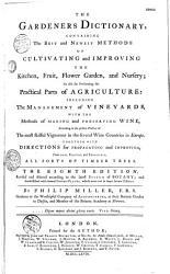 The Gardeners Dictionary Book PDF