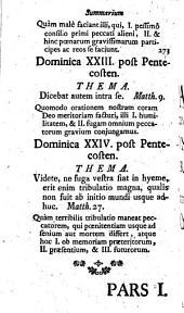 Concionator Extemporaneus In Dominicas Et Festa Per Annum: Pro Dominicis Per Annum. 2,1