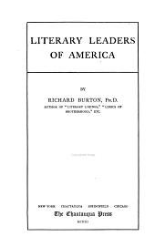 Literary Leaders of America