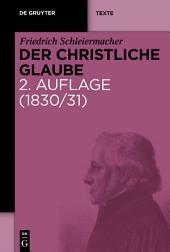 Der christliche Glaube: Nach den Grundsätzen der evangelischen Kirche im Zusammenhange dargestellt, Ausgabe 2