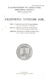 Tanbark Oak and the Tanning Industry