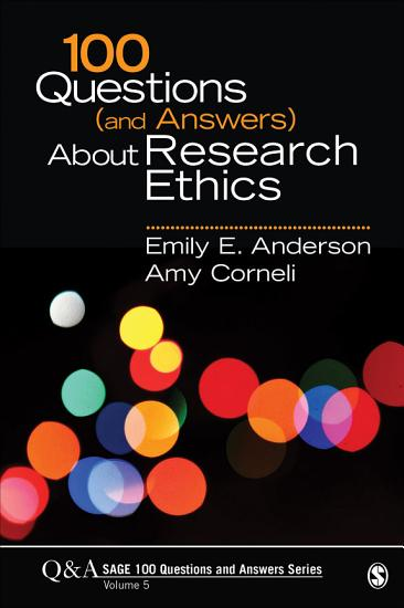100 Questions  and Answers  About Research Ethics PDF