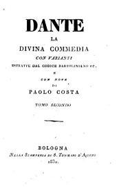 La divina commedia: Il purgatorio