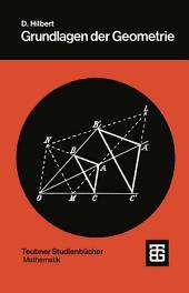 Grundlagen der Geometrie: Ausgabe 13