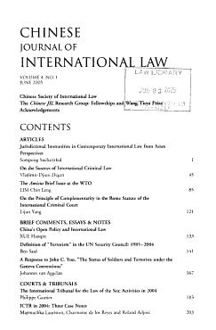 Chinese Journal of International Law PDF