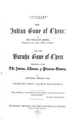 The Indian Game Of Chess Book PDF