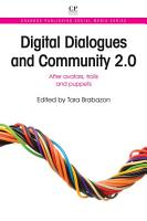 Digital Dialogues and Community 2 0 PDF
