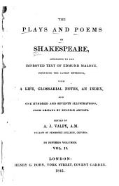 The Plays and Poems of Shakespeare: Merry wives of Windsor. Measure for measure. Comedy of errors
