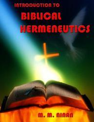 Introduction to Biblical Hermeneutics PDF