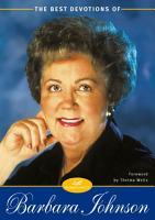 The Best Devotions of Barbara Johnson PDF