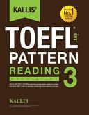 Kallis' Ibt Toefl Pattern Reading