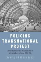 Policing Transnational Protest PDF