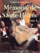 Mémorial de Sainte-Hélène Tome 4