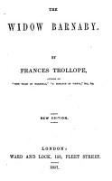 The Widow Barnaby PDF
