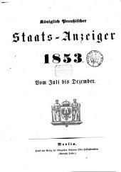 Königlich Preußischer Staats-Anzeiger: 1853, 7 - 12