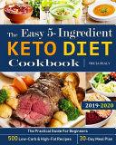 The Easy 5-Ingredient Keto Diet Cookbook