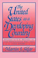 The United States as a Developing Country PDF