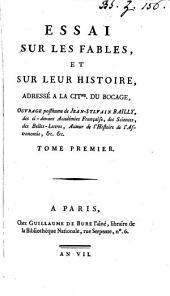 Essai sur les fables et sur leur histoire [ed. by P****].