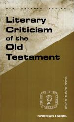 Literary Criticism of the Old Testament