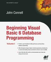 Beginning Visual Basic 6 Database Programming PDF