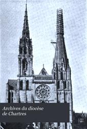 Archives du diocèse de Chartres: Volume15