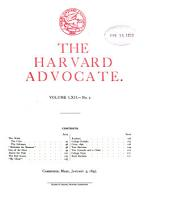 The Harvard Advocate: Volume 62