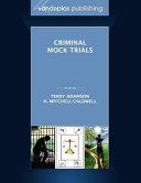 Criminal Mock Trials PDF