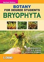 Botany for Degree Students Bryophyta PDF