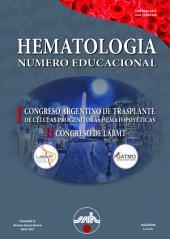Hematología: Volumen 21 - Número Educacional - I Congreso Argentino de Trasplante de Células Progenitoras Hematopoyéticas