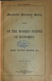 On the Modern Science of Economics