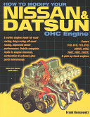 How to Modify Your Nissan and Datsun OHC Engine PDF