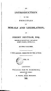 An Introduction to the Principles of Morals and Legislation, 2