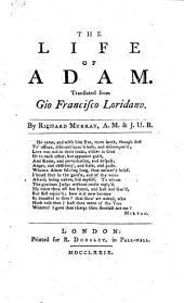 The Life of Adam; Translated ... by R. Murray