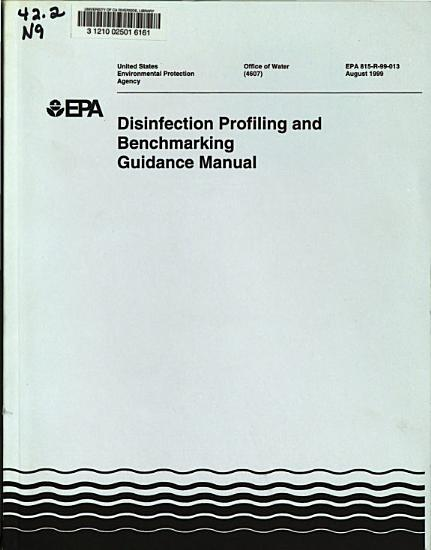 Disinfection Profiling and Benchmarking Guidance Manual PDF