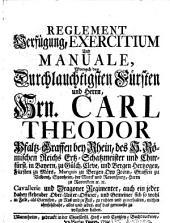 Reglement Exercitium und Manuale Churf. Pfälz. von Carl Theodor