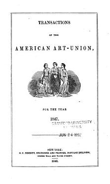 Transactions of the American Art Union  for the Year     PDF