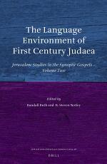 The Language Environment of First Century Judaea PDF