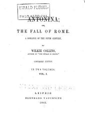 Antonina, Or, The Fall of Rome: A Romance of the Fifth Century